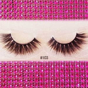 🆕️(Fierce) #103 3d Mink Lashes😍